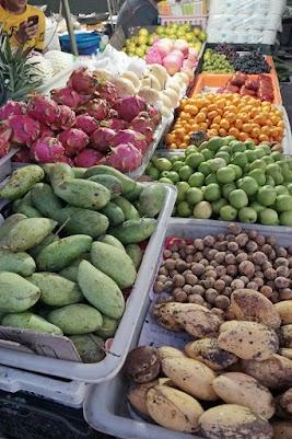 Auf dem Markt in Chiang Saen.