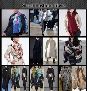 Nápady na módní šátky - náhled