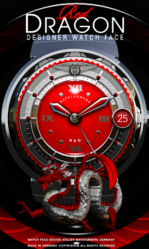 Red Dragon Watch Face