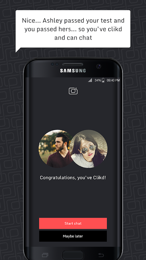 CLiKD - Dating App - Don't Just Date Anyone- screenshot