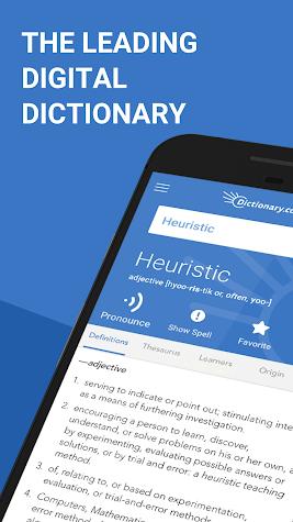 Dictionary.com Premium Screenshot