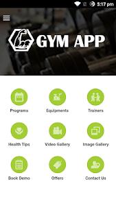 Gym App screenshot 1