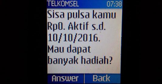 Telkomsel Sedot Pulsa Internet