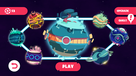 Aliensome: Outta Space Race Screenshot