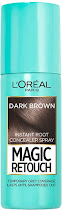 L'Oreal Paris Magic Retouch Instant Root Concealer Spray - Dark Brown, 75ml