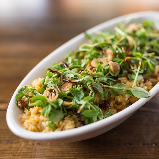 Tofu & Pea Fried Rice Bowl