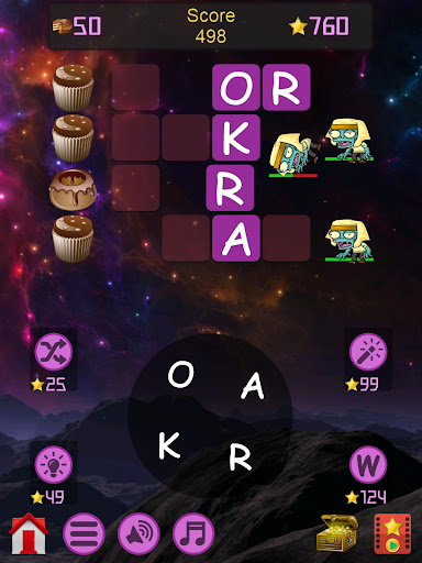 Words vs Zombies - fun word puzzle game android2mod screenshots 19