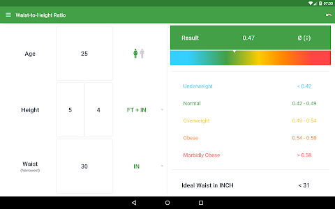 BMI Calculator – Ideal Weight v2.5.2.3 Premium
