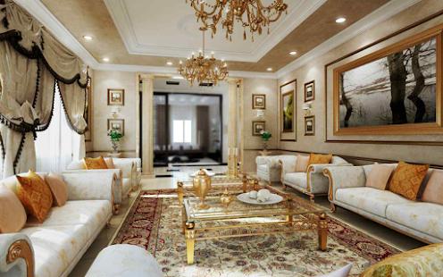 Classic Living Room Furniture Slune
