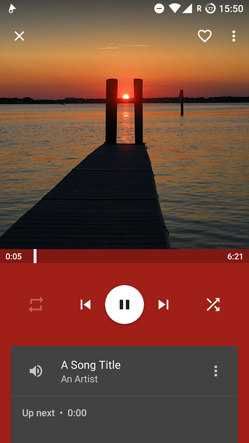 Vinyl Music Player- screenshot