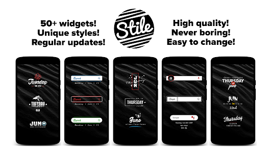 Stile for Zooper 1 4 APK for Android
