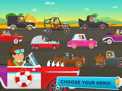 racing car game for kids free screenshot thumbnail