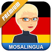 Learn German with MosaLingua Icon