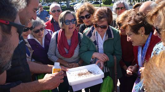 Actividad 'Senda Botánica' en el Parque Nicolás Salmerón