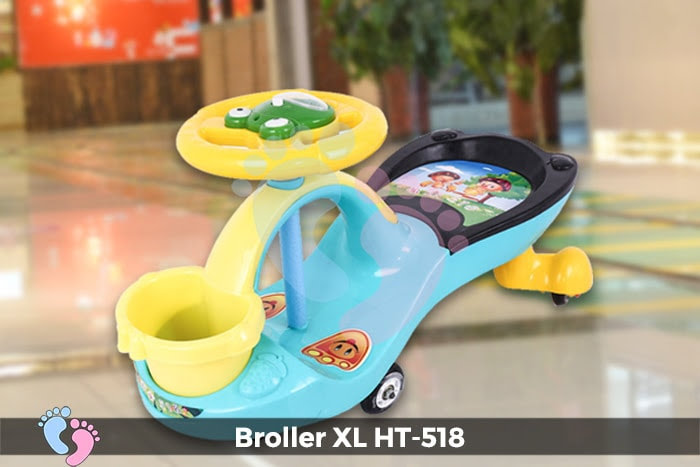Xe lắc tay cho bé Broller XL HT-518 5