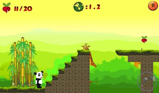 Jungle Panda Run- screenshot thumbnail