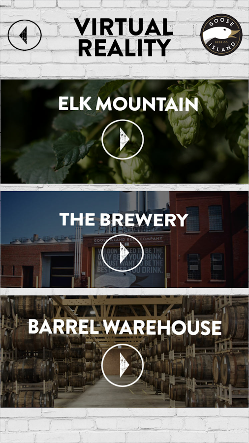 Goose Island Beer Company- screenshot