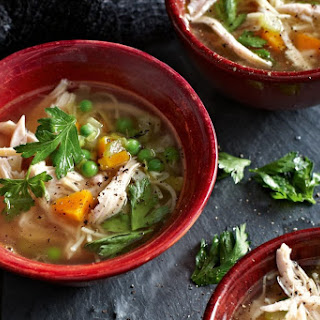 Smoked Chicken Noodle Soup