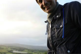 Photo: Wales makes Feraz so happy.