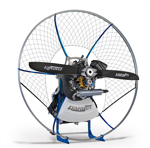 Parajet Zenith frame and engines available from FlySpain Paramotor school