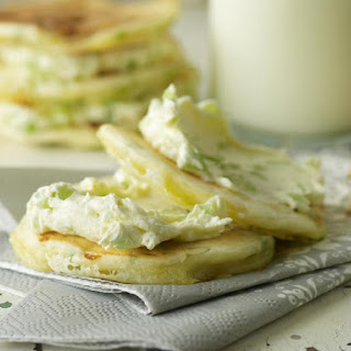 Savory Cheese Pancakes.