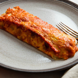 Crepe Manicotti With Veal Ragù