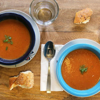 Smoky Tomato Soup (vegan)