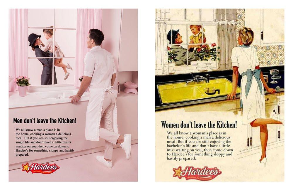 En un universo paralelo, anuncios sexistas recreados con roles de género invertidos