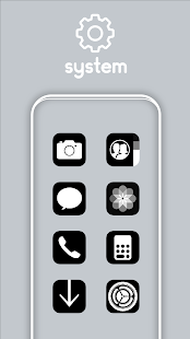OSX 13 Black UI - Icon Pack Screenshot
