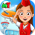 My Town : Airport. Free Airplane Games for kids icon