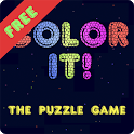 Color It! The Puzzle Game FREE icon