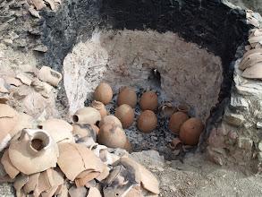 Photo: In the kiln.