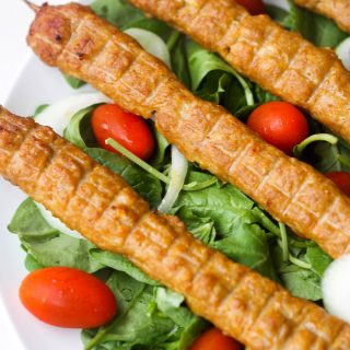 Easy Chicken Seekh Kebab