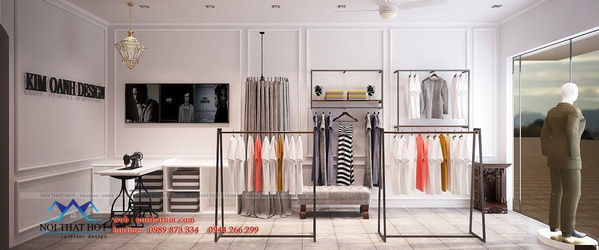 thiết kế shop thời trang may đo 5