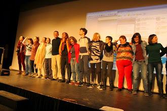 Photo: Compartiendo escenario en taller de Josefina Redondo