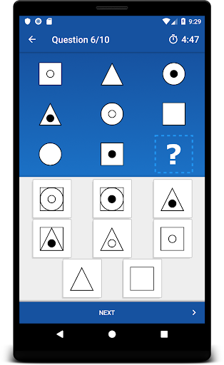 Progressions - Logic Puzzle and Raven Matrices screenshot 3