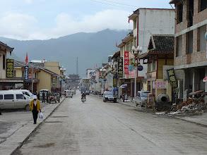 Photo: Songpan, south gate, main street, ubytko, stir fr vegetables...