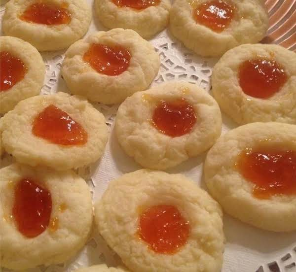 Tender Apricot Thumbprints