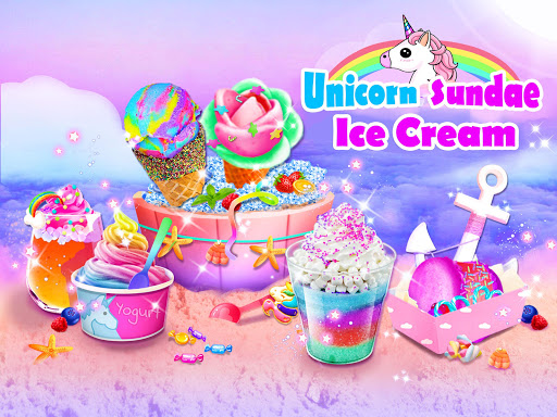 Unicorn Ice Cream Sundae - Ice Desserts Maker 1.1 screenshots 1