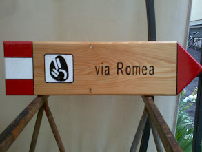 Photo: cartello vie Romee