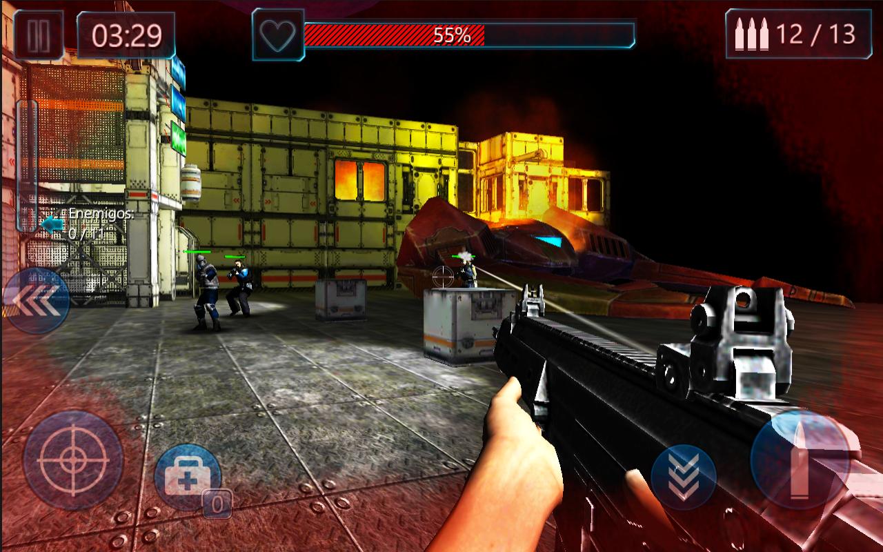 Battlefield Combat Nova Nation- screenshot