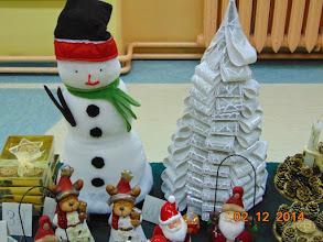 Photo: Ozdoby świąteczne wykonane przez uczniów, rodziców i nauczycieeli