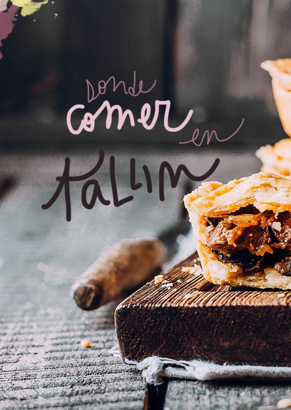 restaurantes donde comer en Tallin