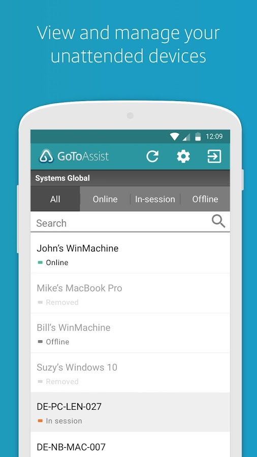 GoToAssist (Remote Support)- screenshot