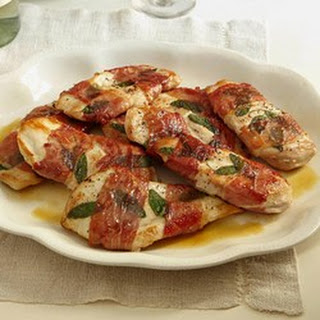 Sandy's Chicken Saltimbocca.