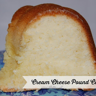 Cream Cheese Pound Cake.