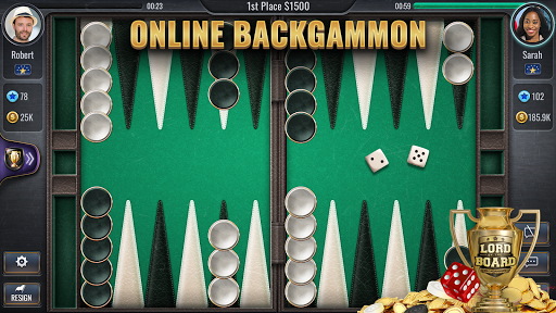 Backgammon Online - Lord of the Board - Table Game android2mod screenshots 1