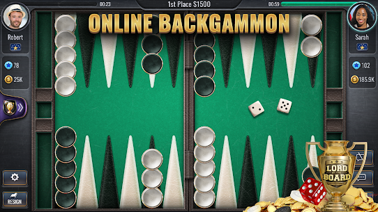 Backgammon Online – Lord of the Board – Table Game 1