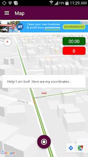 PinCom Location - Navigation/Social Network App - náhled