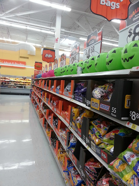Photo: I left without any candy. True self control!